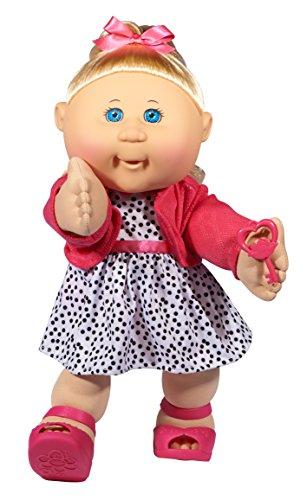 Cabbage Patch Kids 14' Kids - Blonde Hair/Blue Eye Girl Doll in Trendy Fashion