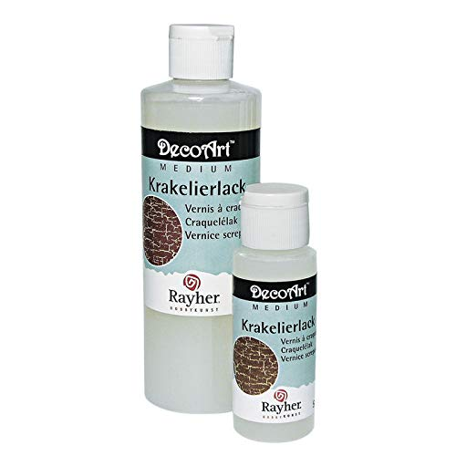 CREATIV DISCOUNT® NEU Krakelier-Lack, Flasche 235 ml