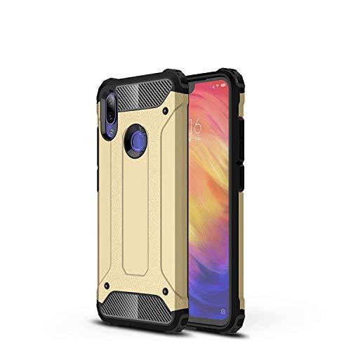 TenYll Funda para iPhone SE 2020, Protección contra Golpes de TPU + PC Resistente a Arañazos(Doble Capa), Fundas Carcasas Case para iPhone SE 2020 (Oro)