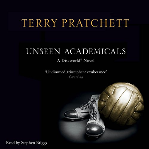 Unseen Academicals audiobook cover art