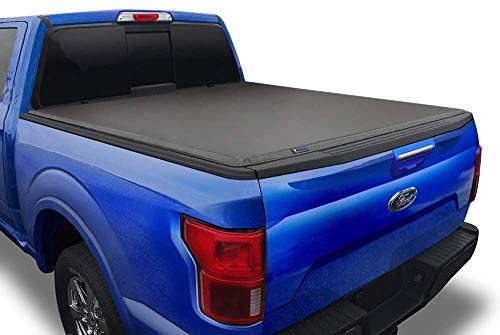Tyger Auto T3 Soft Tri-Fold Truck Bed Tonneau Cover for 2015-2021 Ford F-150 Styleside 6.5' Bed TG-BC3F1042, Black