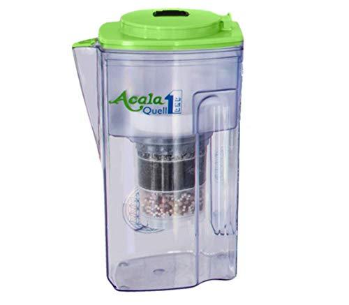 Wasserfilter AcalaQuell® One | Acalagrün | Aktivkohle Wasserfilter | Höchste Filterleistung - mehrschichtig | BPA u. BPB frei | ReNaWa® - Technology | Kreiert köstlich schmeckendes, wohltuendes Wasser