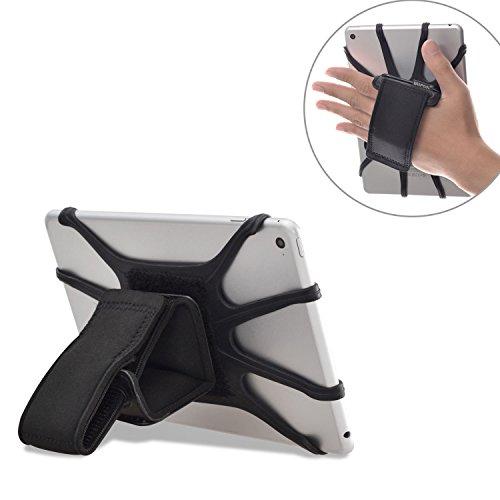 WANPOOL Gepolstertes Handhalteband mit Abnehmbaren Silikon Tablet Haltenetz für 7-10,5 Zoll Tablets