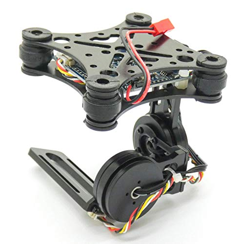 SpeedyFPV 2-Axis Brushless Gimbal for FPV Camera Drones Lightweight CNC Aluminum