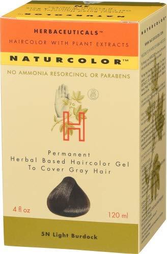 Naturcolor Haircolor Hair Dye - Light Burdock, 4 Ounce (5N)