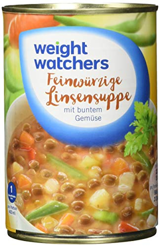Weight Watchers Feinwürzige Linsensuppe, Dose, 6er Pack (6 x 400 ml)