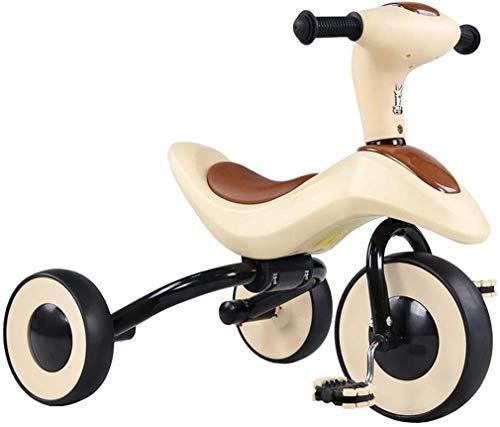 Xiaoyue Fahrräder Kinder Dreirad Pedal Folding Fahrrad-Kinder-Indoor-Fahrrad-Haushalt Fahrrad Preschool Spielraum Mini-Bike Kinder Spielzeug Fahrrad 3~10 Jahre alt/kann gefaltet Werden lalay