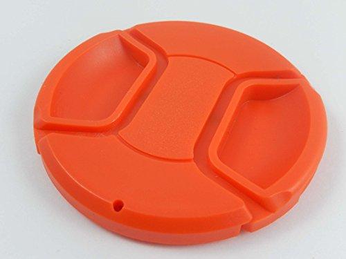 vhbw Tapa de Objetivo 72mm roja para cámaras Sony 50 mm 1, 4 ZA SSM Planar T*