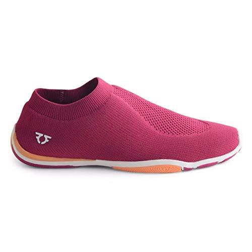 IFIQAS Damen Fahrschuhe HIDRIVE Sneaker Schlupfpumpe Laufen Casual, Pink - Rose - Größe: 39 EU