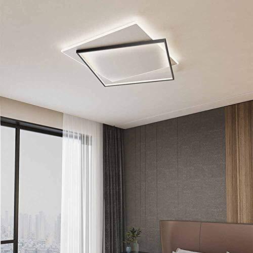 SANTITY Plafón LED de Techo 4500K Blanco Neutro Cuadrado Lámpara de Techo Moderna decoración Luz Interior para Dormitorio Cocina Sala de Estar Comedor Balcón Pasillo