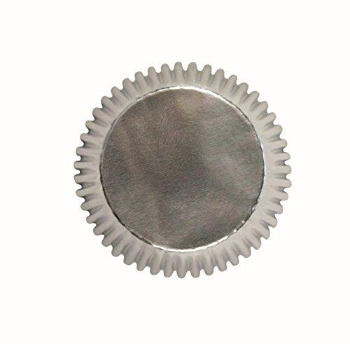 PME Silver Metallic Cupcake Liners, Standard Size