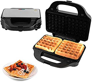 Appareil À Croque-Monsieur,Gaufrier Sandwich Multifonction 900W 3In 1, Fabricant De Sandwichs Toastie, Machine À Griller P...