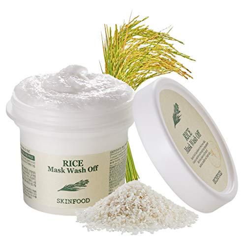 SKINFOOD Mascarilla facial de lavado de arroz - 3.52 oz