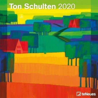 Ton Schulten Broschurkalender - Kalender 2020 - teNeues-Verlag - Wandkalender mit Platz für Eintragungen - 30 cm x 30 cm (offen 30 cm x 60 cm)