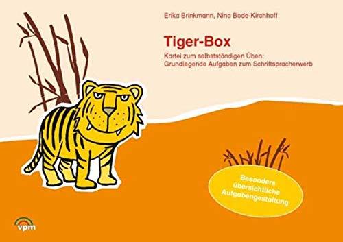 Tiger-Box - Die Kartei zum selbstständigen Arbeiten. Grundlegende Aufgaben zum Schriftspracherwerb: Kartei Klasse 1/2 (ABC Lernlandschaft 1. Ausgabe ab 2011)