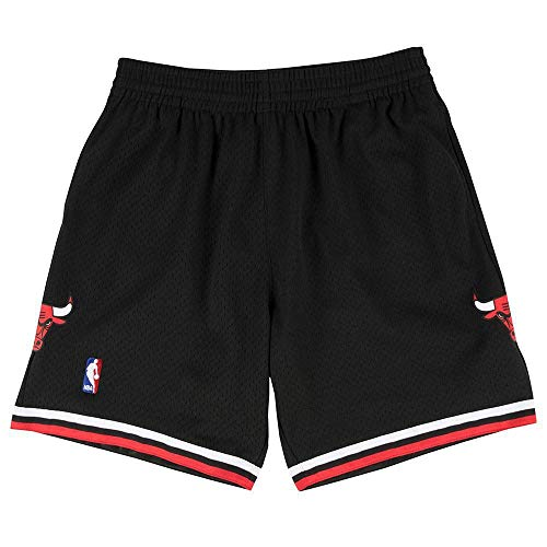 Mitchell & Ness Chicago Bulls 1997-1998 Swingman NBA Shorts Schwarz, L