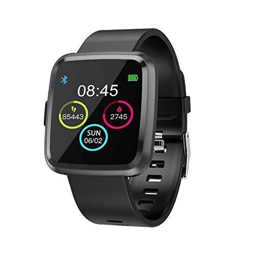 MUXAN Sauerstoff-Messgerät mit hohem Druck, Herzfrequenz-Messgerät, Farbbildschirm, Vollfarb-Display, Multi-Touch-Armband