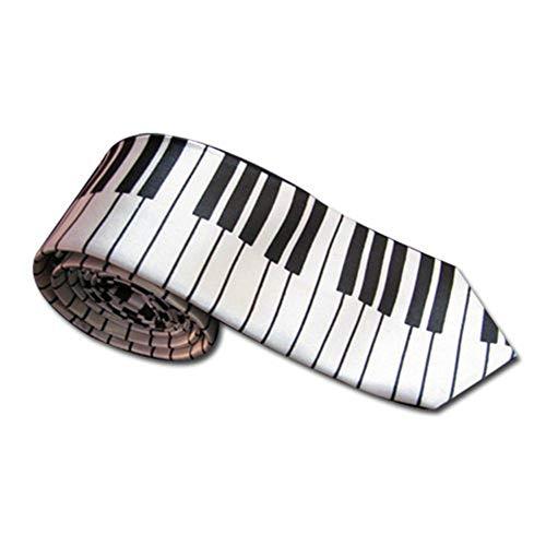 La cravate en clavier de piano