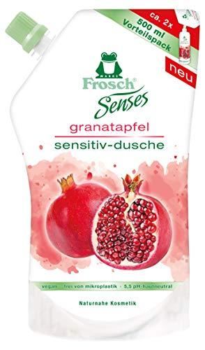 Frosch Senses Sensitiv-Dusche Granatapfel Nachfüllbeutel, 6er Pack(6 x 500 ml)