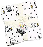 Peanuts Gang Snoopy & Woodstock Velvet Soft Plush Full / Queen Bed Blanket by Berkshire | 90' x 90'
