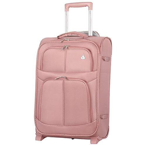 Maximum Allowance Airline Approved Delta United Southwest Carryon Suitcase (Rose Gold)