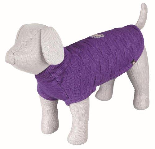 Trixie Hundepullover Corvara lila Gr. S 33 cm
