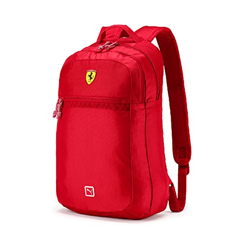 PUMA Mochila estándar Scuderia Ferrari réplica para hombre, color rojo brillante, talla única - 076883, Portátil.,...