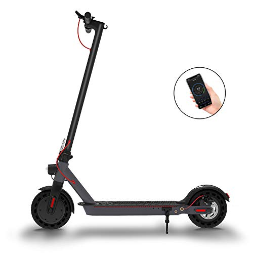 Hiboy S2 Electric Scooter - 8.5' Solid Tires - Up to 17...