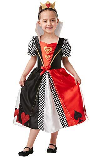 Rubie's officiële koningin van harten, kind kostuum, boek dag karakter
