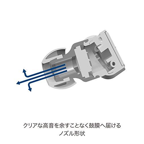 パイオニアSE-CH5Tイヤホンカナル型/ハイレゾ対応ブラックSE-CH5T-K