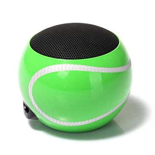 YUMII Altavoz portátil al Aire Libre del Tenis del Ordenador del hogar del Coche del Mini-Altavoz de Bluetooth del Altavoz del teléfono móvil