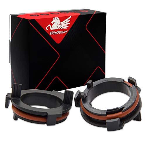 Win Power H7 LED Birne Base Clips Adapter Halter Haltefedern Unterstützung Umwandlung Zubehör, 2 Stücke