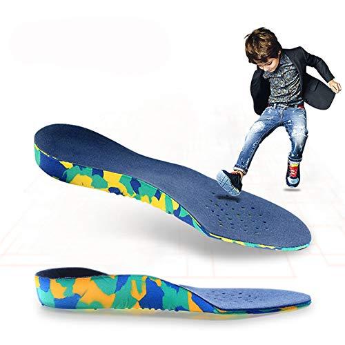 XIAODIANER Kinder Arch Support Orthopädische Einlegesohlen für Kid Flache Fuß Sport Laufen Sneaker Korrektur Schuhe Kissen Einlagen Pads