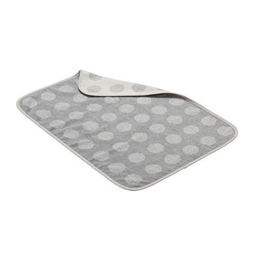 Leander Matty Topper, handdoek, ligkussen voor wikkelkussen, Organic - cool grey