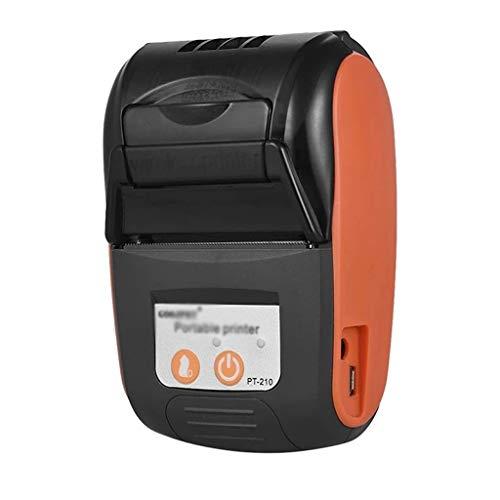 ZZABC MNDYNJBGJY Impresora térmica portátil Handheld 58mm Impresora de Recibos para Tiendas minoristas Restaurantes Fábricas Logística