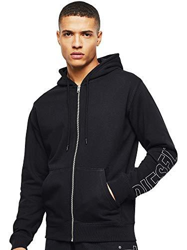 Diesel UMLT-BRANDON-Z Hooded Sweatshirt, 900/0pazc, XL para Hombre