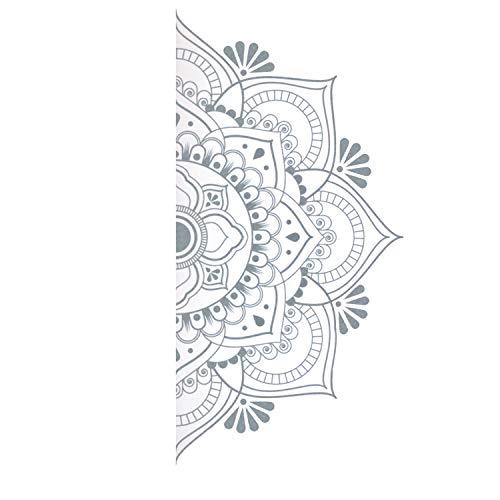 Tecnoservan Vinil Decorativo de Pared Mandala Grande (113 x 57 cm)