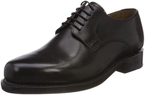 J.Briggs Herren Leder Schuh Goodyear Welted Rahmengenäht Plain Derby Schnürhalbschuhe