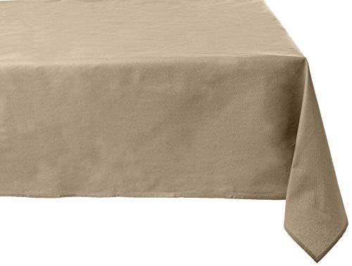 Alba tafelkleed van linnen met een coating van hars.