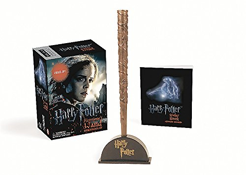 Price comparison product image Harry Potter Hermione's Wand with Sticker Kit: Lights Up! (RP Minis)