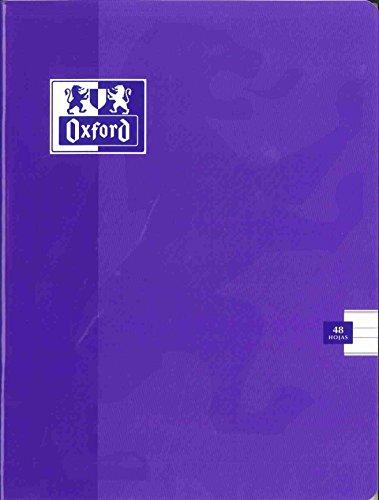 Oxford - Libreta tamaño a5+ 48 hojas montessori 5 mm tapa blanda