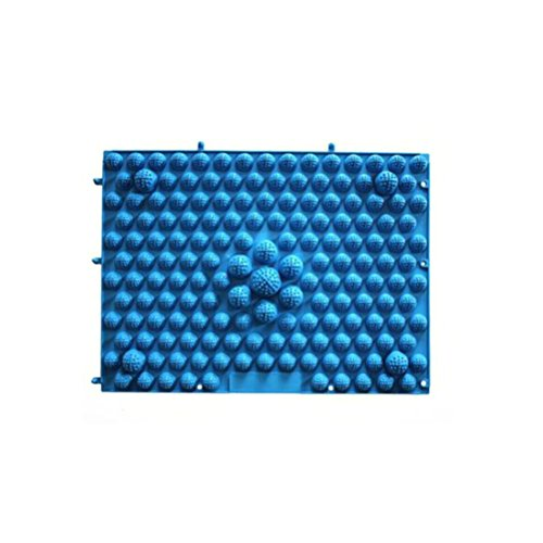 ULTNICE Fußmassagematte Reflexzonenmassage Matte für Entspannung Fußpflege und Gesundheit Halten (blau)