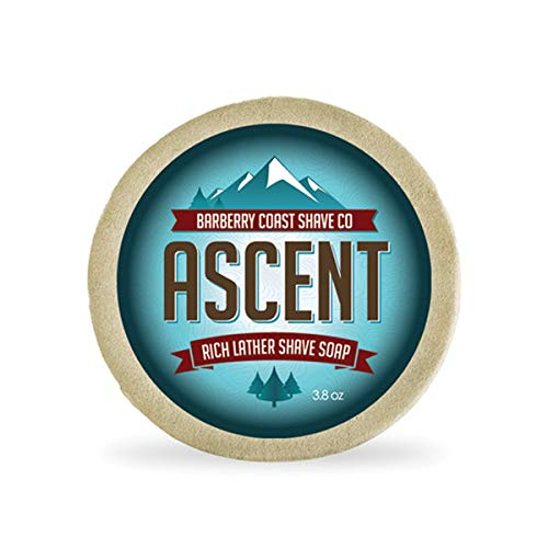 Himalayan Ascent Shave Soap for Men - Rich, Slick & Thick Lather - High-Performance
