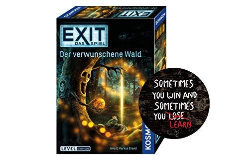 Collectix Kosmos 695149 EXIT - Das Spiel: Der verwunschene Wald + 1x Exit-Sticker