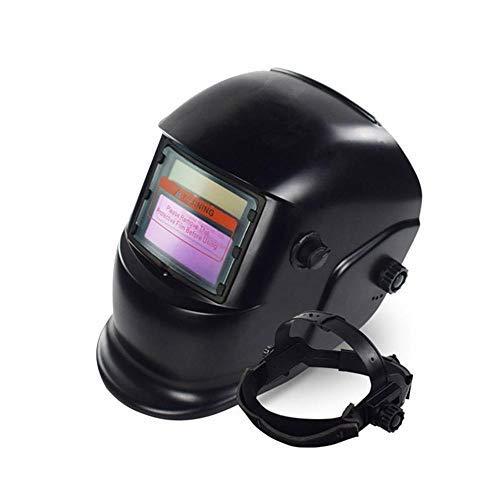 casco de policarbonato solar Portabe 120 95 mm 10 filtros de protecci/ón para m/áscara de soldadura oscurecimiento autom/ático antisalpicaduras peso ligero