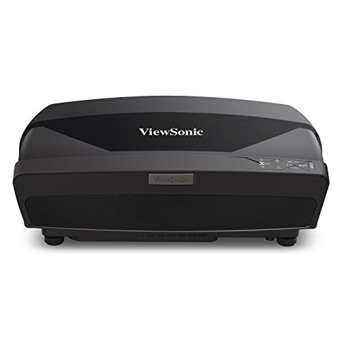 ViewSonic LS820 1080p Laser Projector with Ultra Short Thow Lens 3500 Lumens and 6-Segment Color Wheel for Home Theater