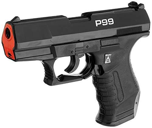 Sohni-Wicke 0473 - Special Agent P99 mit Schalldämpfer Pistole, 25-Schuss Amorces