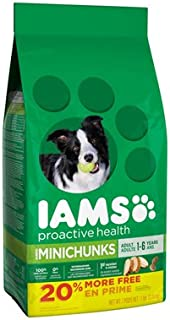Iams American Distribution & Mfg 71108 Proactive Health Mini Chunks Dog Food, 7-Lb. - Quantity 4