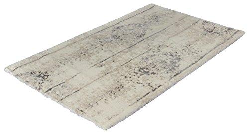 Kleine Wolke Badteppich, Silbergrau, 70 x 120 cm 4004478259096