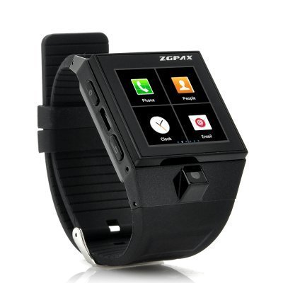 Smart Watch Unlock Android V. 4.04 Watch Phone / Dual Core / 4G Ram / 1.54' TFT / Bluetooth / Wifi / GPS tracker/ Full size SIM & Micro SD card slot / GSM, GPRS,EDGE, HSPA